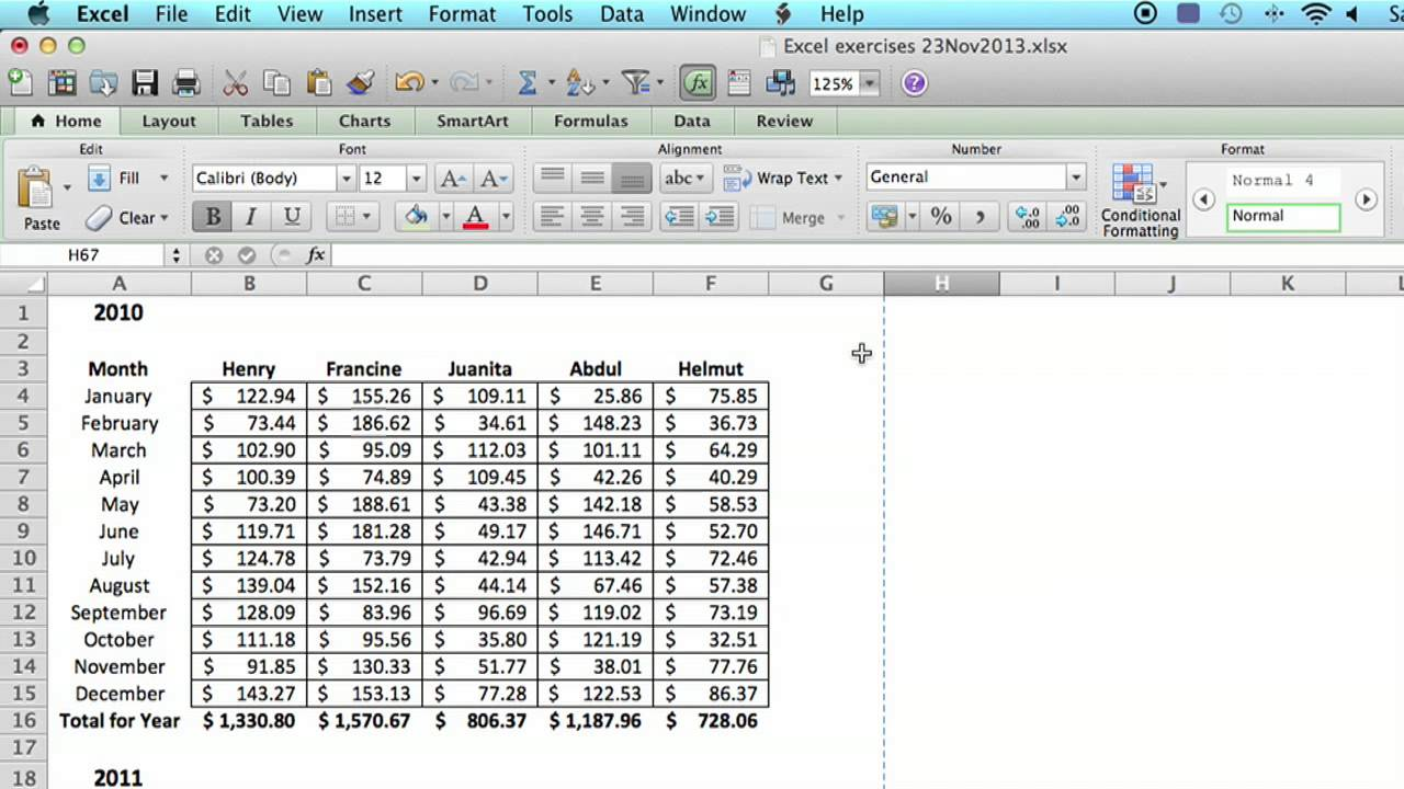 How To S Ve N Excel Spre Dsheet To Look Like S Gle P Ge