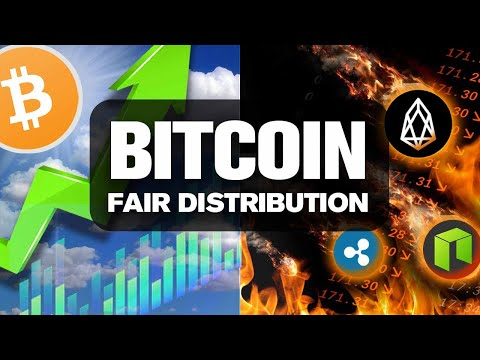 BITCOIN To SMASH Altcoins! Why? FAIR Distribution! No Alt Can't Say That…