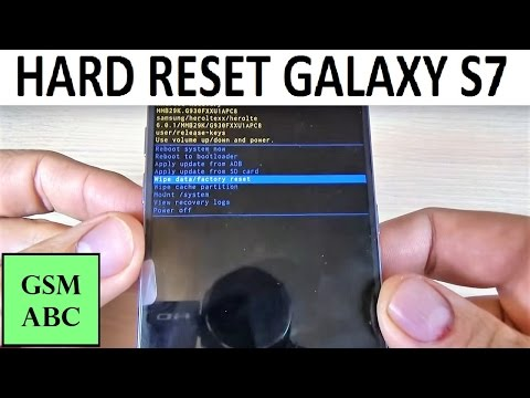 HARD RESET Samsung Galaxy S7, S7 EDGE | How to | Tips and Tricks