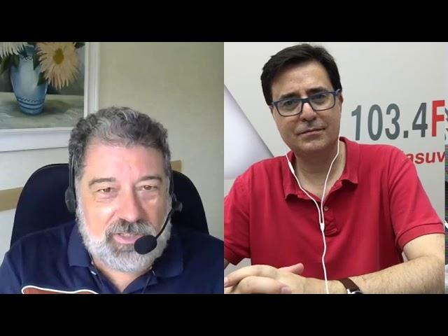Entrevista en estudio Centro Integrado FP Valle de #Elda 2020