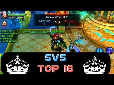 🛡️ BATALHA TOP 16 / 5v5 - Goddess Primal Chaos [FullHD 60Fps/Gameplay]