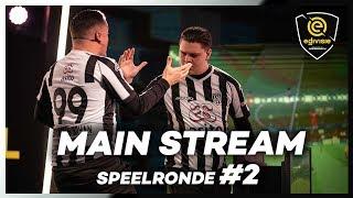 MAIN STREAM | SPEELRONDE 2 | eDivisie 2019-2020 FIFA20
