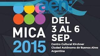 Comenzó el Mica 2015 en el Centro Cultural Kirchner - AEN 03-09 18HS.