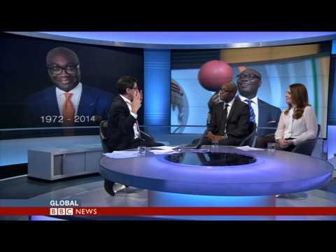 KOMLA DUMOR TRIBUTE - BBC WORLD NEWS-