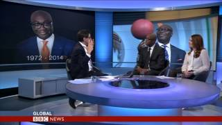 KOMLA DUMOR TRIBUTE - BBC WORLD NEWS-