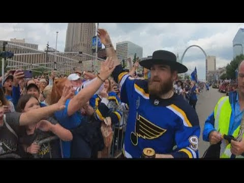 Sights and sounds from Saturday's Blues parade and rally