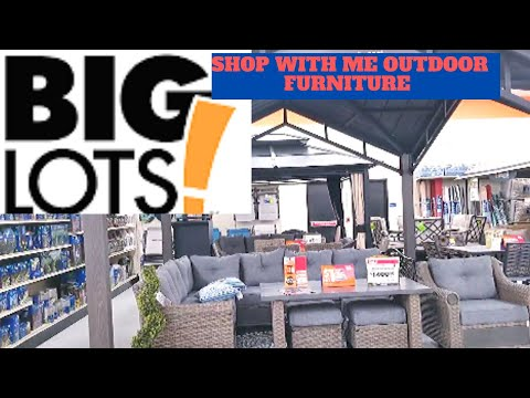 NEW* BIG LOTS OUTDOOR Patio Furniture SUMMER Home Decor SHOP WITH ME SHOPPING STORE WALK THROUGH💲💰