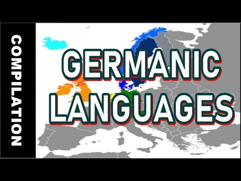 The Germanic languages! | Compilation