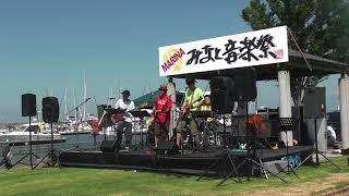 7/15「MARINAみなと音楽祭」に涙涙ずで出演させていただきました...