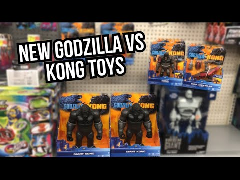 NEW GODZILLA VS KONG TOYS AT WALMART!