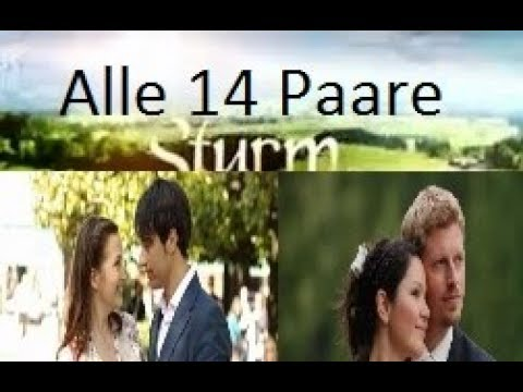 Alle Sturm Der Liebe Paare Bis Zur 14 Staffel Youtube