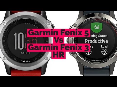 Garmin Fenix 5 Vs Fenix 3 HR // Best Fitness Watch 2017
