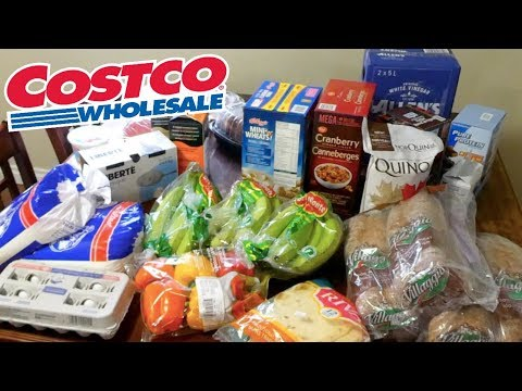 $200 COSTCO HAUL! | SHOPPING IN CANADA