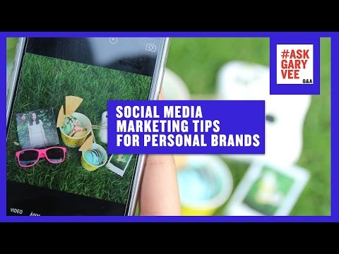 Social Media Marketing Tips for Personal Brands
