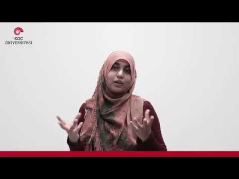 Koç University Student Testimonial - Pirah Noor Soomro - Pakistan