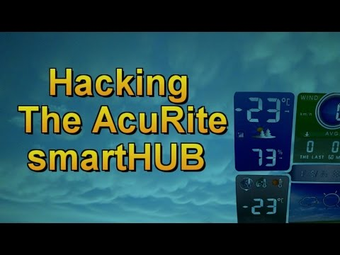 Hacking the AcuRite smartHUB - How Data is Published to Weather Underground