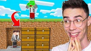 UKRYŁEM WSZYSTKIE RZECZY PALIONA w Minecraft!
