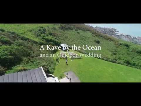A Kave by the Ocean and an Outdoor Wedding