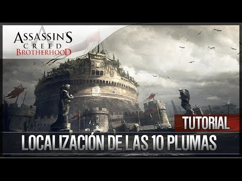 Assassin's Creed Brotherhood | Walkthrough Español | Localización de las 10 Plumas Trofeo en Memoria