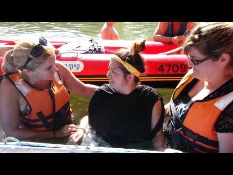 Baptisms - Caleb Cunningham, Ericka Lopez, and Casey Swain