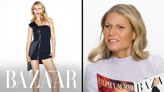 Gwyneth Paltrow Reacts to Her Harper's Bazaar Covers | Harper's BAZAAR