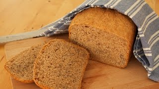 Recipe: Whole Wheat Bread With Yoghurt, Popped Amaranth & Poppy | Bread Machine [recipe Diary]