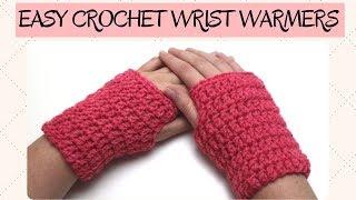 Easy Crochet Wrist Warmer - Crochet Gloves