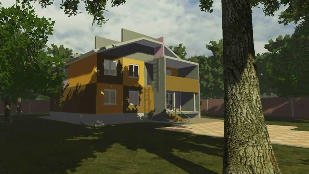 Mnogomir building simulator realtime 7 youtube for Free home builder
