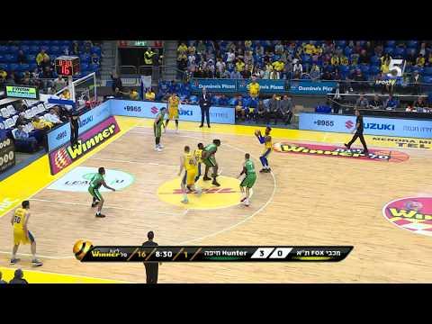 Winner-League Game 23: Maccabi FOX Tel Aviv - Maccabi Haifa 80:71