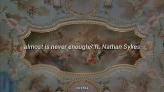 Ariana Grande - ❝almost is never enough❞  Ft. Nathan Sykes *sub. Español*