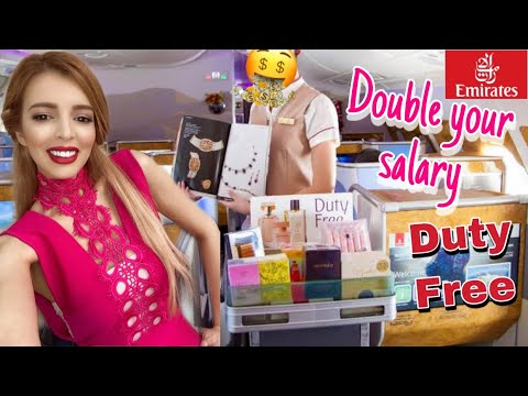 DOUBLE THE SALARY for EMIRATES CABIN CREW 2020| DUTY FREE onboard
