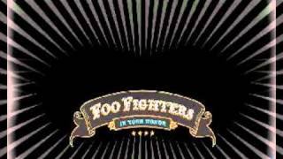 Foo Fighters - best of you guitar backing track