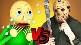 Baldi vs Jason Voorhees  The Movie (All Episodes Compilation Friday 13 3D Animation)