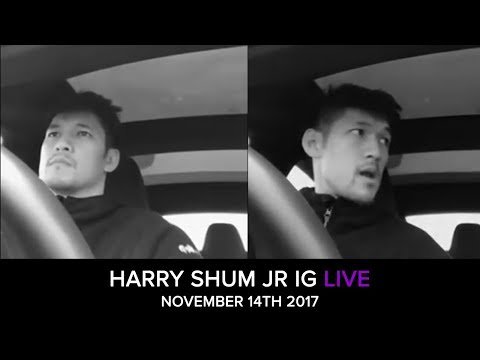 Harry Shum Jr.'s live from November 14th, 2017.