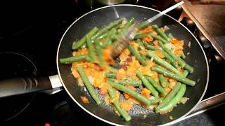 Sicilian Green Beans recipe. Healthy food for you.