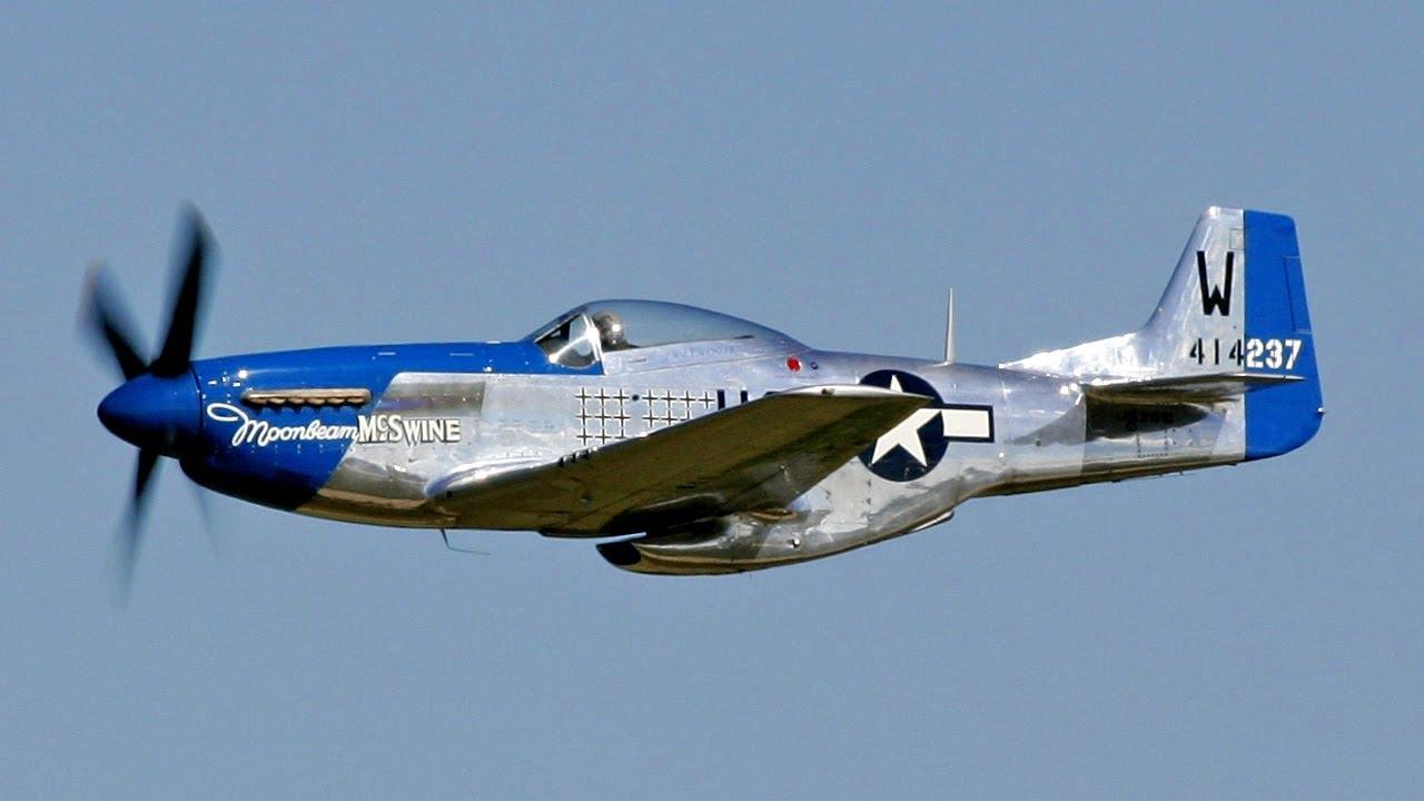 P 51d Mustang Moonbeam Mcswine Youtube