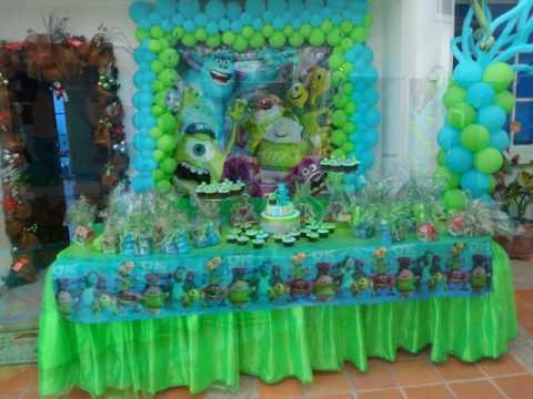 Fiesta Infantil Monster University