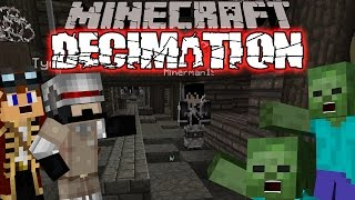 Minecraft Decimation | Zombie Apocalypse (Minecraft DayZ Custom Modpack) Kitted Out #2