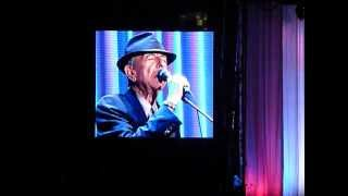 Democracy by Leonard Cohen. Old Ideas Tour Olympic Stadion Amsterdam 21-08-2012. Mp3