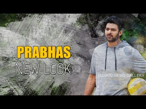 Prabhas Latest Stylish And Handsome Look For His Upcoming Movie | Prabhas New Look