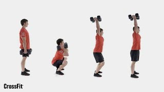 The Dumbbell Hang Clean and Push Jerk