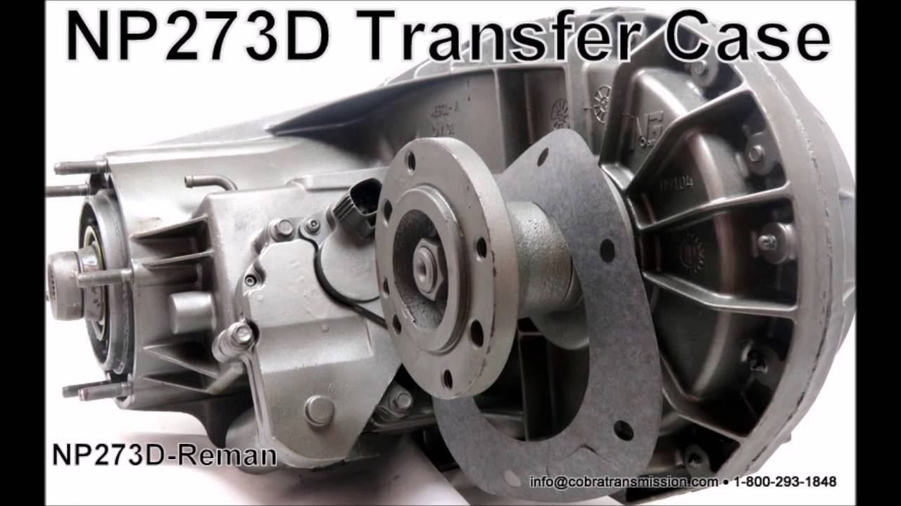 NP 273D Transfer Case  YouTube