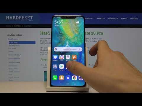 ТЕМНАЯ ТЕМА Huawei Mate 20 PRO — Как включить ночной темный режим