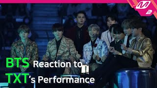 [Reaction Cam] BTS(방탄소년단) Reaction to TXT(투모로우바이투게더) l 2019MAMA x M2