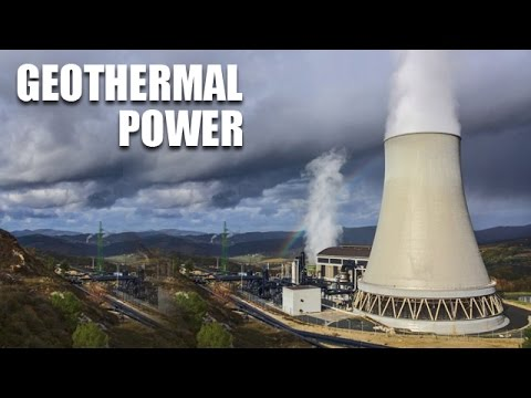 Geothermal Power Plant -  Traditional Power- Generating Stations