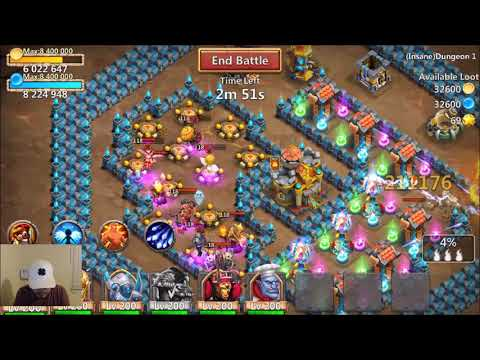 BRUTE FORCE And CRIT DAMAGE TESTED Castle Clash