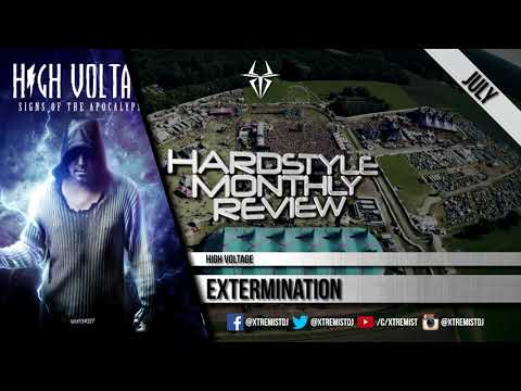 Hardstyle Monthly Review | Best Tracks of July 2017