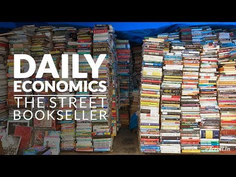 Daily Economics: In the time of e-books, how much does a roadside bookseller earn?