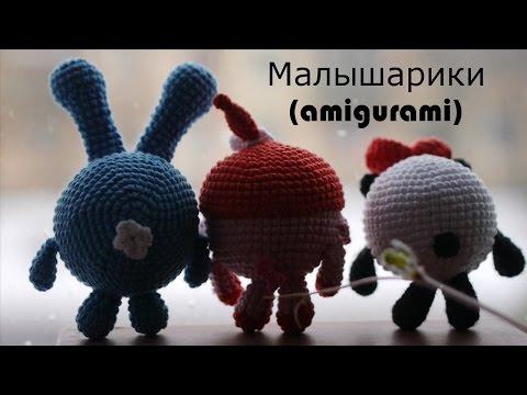 Смешарик Ежик Мастер класс .Часть 2я Вязание крючком .amigurumi crochet
