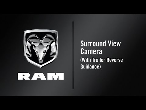Surround View Camera (With Trailer Reverse Guidance) | How To | 2019 Ram 2500-3500